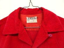他の写真1: 60'S TOWNCRAFT コーデュロイ オープンカラーシャツ RED (VINTAGE)