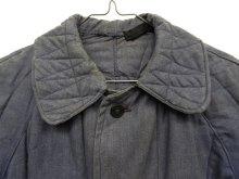 他の写真1: ユーロワーク 中綿入り ワークジャケット カバーオール ブルーグレー (VINTAGE)