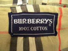 """他の写真3: BURBERRYS """"COTTON100%"""" バルマカーンコート ベージュ 玉虫色 イングランド製 (VINTAGE)"""