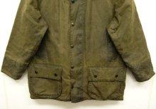 """他の写真3: 90'S BARBOUR 3クレスト 旧タグ """"BEAUFORT"""" オイルドジャケット OLIVE イングランド製 (VINTAGE)"""