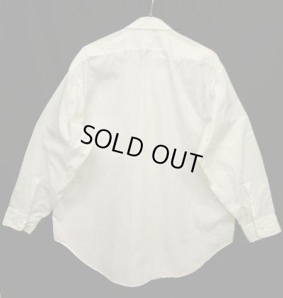 画像2: 60'S ARROW コットン100% 長袖 ドレスシャツ ホワイト USA製 (VINTAGE)