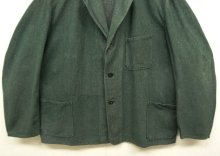他の写真3: ユーロワーク グリーンシャンブレー ワークジャケット カバーオール GREEN (VINTAGE)