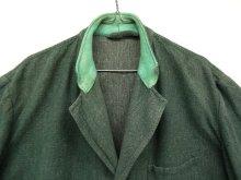 他の写真1: ユーロワーク グリーンシャンブレー ワークジャケット カバーオール GREEN (VINTAGE)