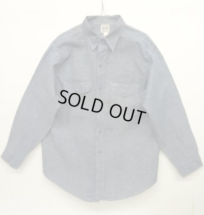 画像1: 50'S SWEET-ORR ユニオンチケット付き シャンブレーシャツ USA製 (DEADSTOCK)