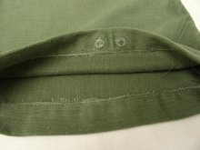 """他の写真3: 60'S アメリカ軍 US ARMY """"OG107"""" 平ボタン コットンサテン ベイカーパンツ (VINTAGE)"""