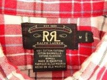 他の写真1: 90'S RRL 三ツ星タグ 半袖 ボックスシャツ チェック柄 (VINTAGE)