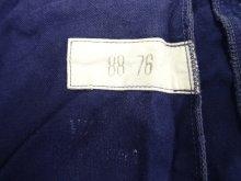 他の写真2: 60'S フランス軍 プリーツ入り ワークパンツ BLUE (VINTAGE)