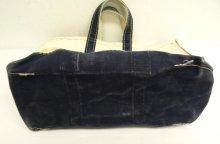 他の写真3: 80'S LL Bean 2色タグ キャンバス トートバッグ ネイビー/オフホワイト USA製 (VINTAGE)