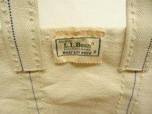 他の写真1: 80'S LL Bean 2色タグ キャンバス トートバッグ ネイビー/オフホワイト USA製 (VINTAGE)