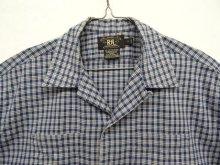 他の写真2: 90'S RRL 三ツ星タグ 半袖 オープンカラーシャツ チェック柄 (VINTAGE)