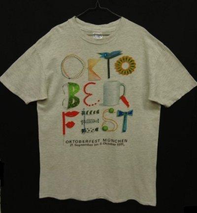 画像1: 90'S OCTOBER FEST シングルステッチ フェスティバル Tシャツ USA製 (VINTAGE)