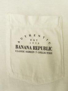 """他の写真2: 80'S BANANA REPUBLIC """"イグアナ&マッププリント"""" ポケット付き Tシャツ USA製 (VINTAGE)"""