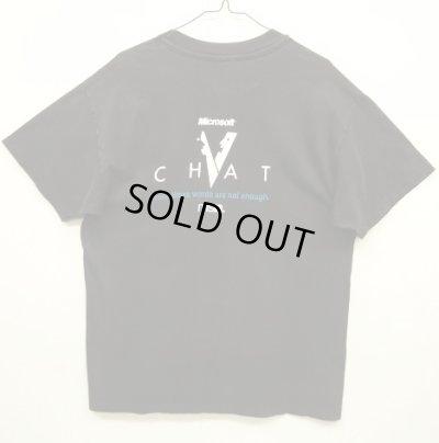 """画像2: 90'S MICROSOFT """"EXPRESS YOURSELF"""" シングルステッチ 半袖 Tシャツ BLACK (VINTAGE)"""