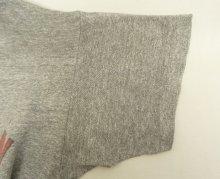 他の写真3: 80'S CHAMPION トリコタグ 88/12 Tシャツ 染み込みプリント 杢グレー USA製 (VINTAGE)