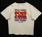 """I'M THE BOSS """"JAMAICA"""" 半袖 Tシャツ ホワイト (VINTAGE)"""