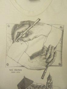 他の写真2: 90'S M.C.ESCHER 半袖 Tシャツ コピーライト付き WESTSIDEボディ (VINTAGE)
