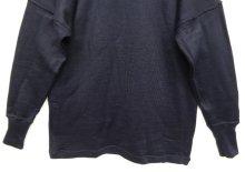 他の写真3: イタリア軍 モックネック ウール セーター NAVY (DEADSTOCK)